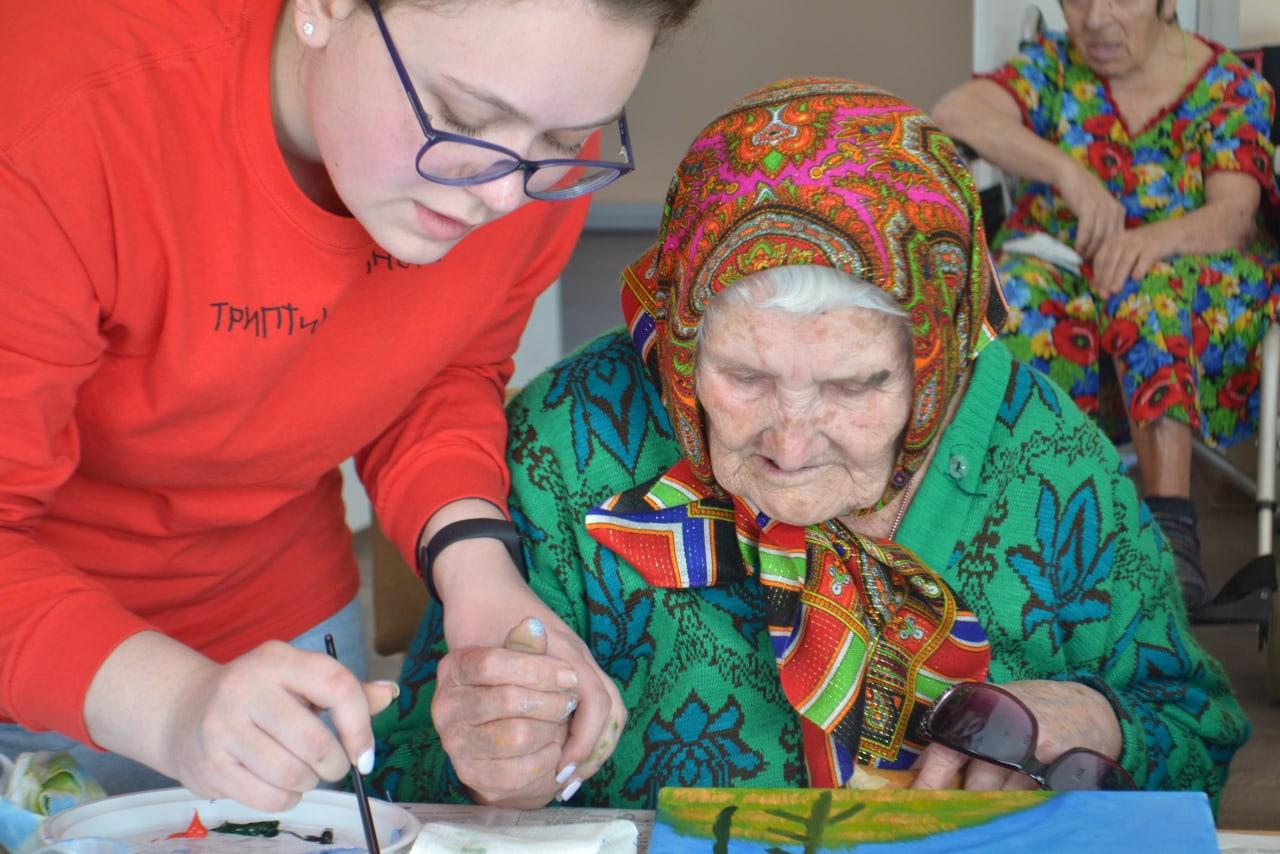 Творческая мастерская в Мечетинской