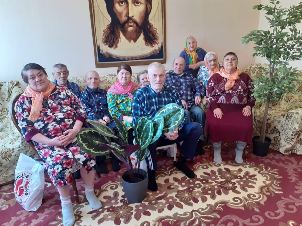 Подарки целинским бабушкам и дедушкам