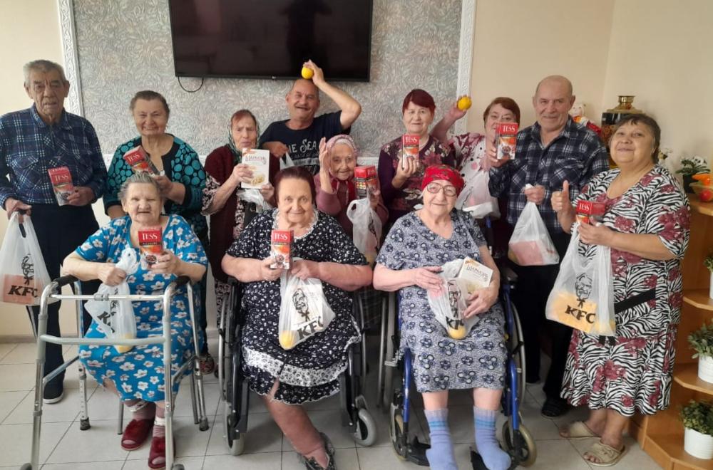 Закрыт сбор средств для организации праздника «День пожилого человека»