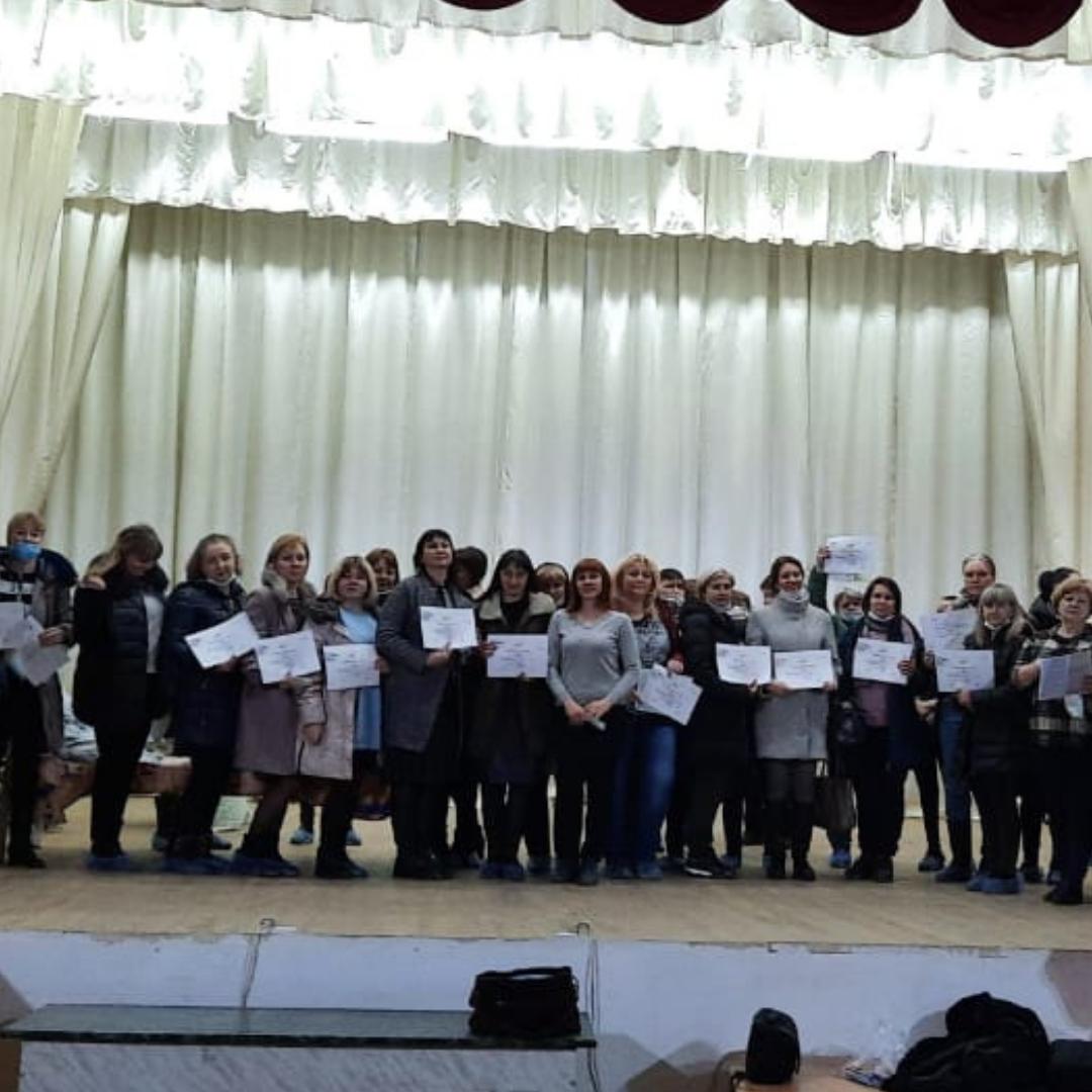 В Железнодорожном районе прошло обучение Школы ухода «Жить дома!».